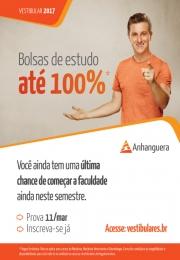 Anhanguera oferece concurso de Bolsas