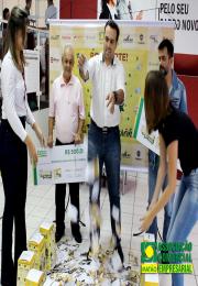 ACE-Matão realizou o segundo sorteio da campanha Sorte na Mão.